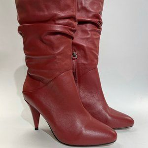 Alias Mae Coranne Leather Slouch Boot Sz 9
